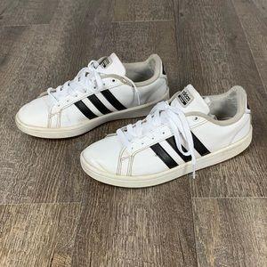 adidas Shoes - Adidas Cloudfoam Advantage 3 stripe sneakers